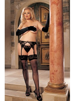 LACE TOP STAY-UP STOCKINGS