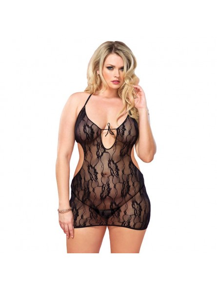 Floral Lace Chemise UK 16 to 18