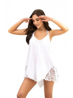 White Cover Up & Beach Dress 7890