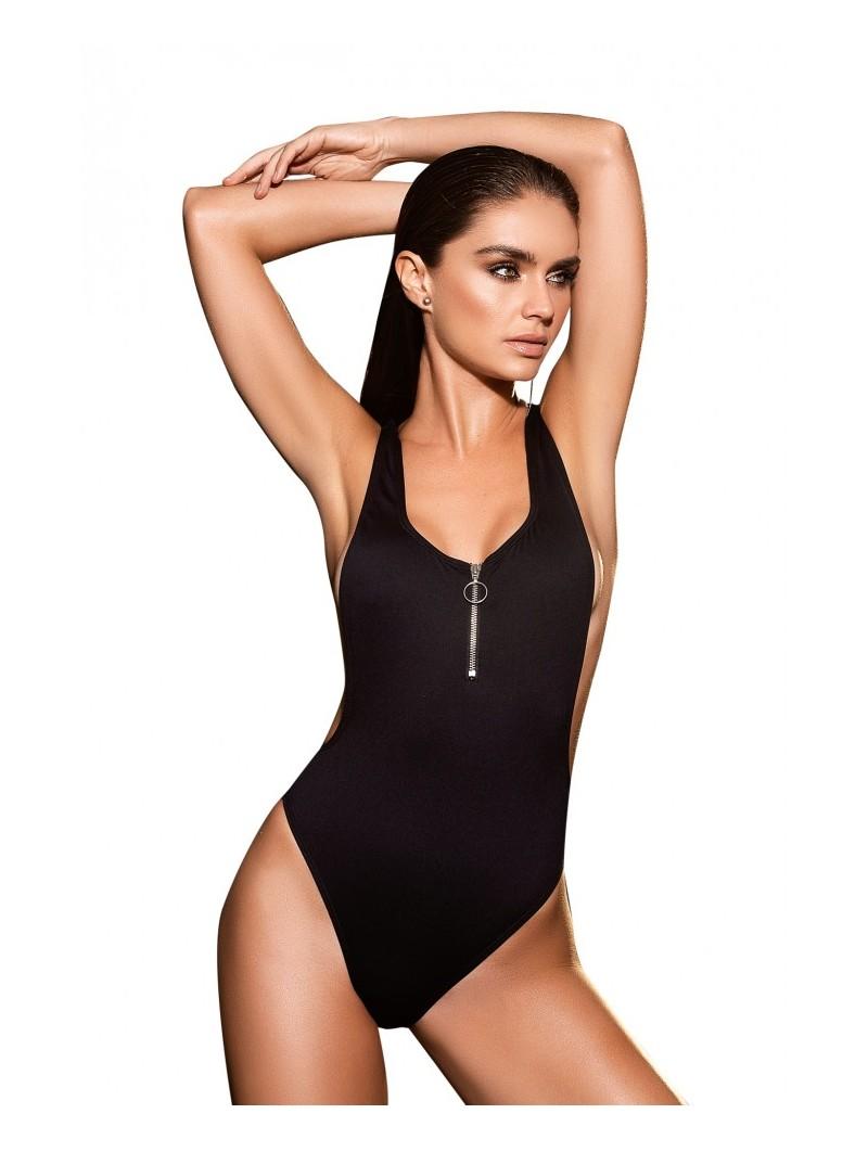 Black One Piece Swimsuit 6972