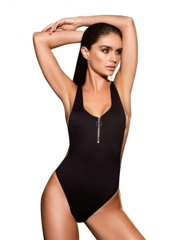 Black One Piece Swimsuit 6972