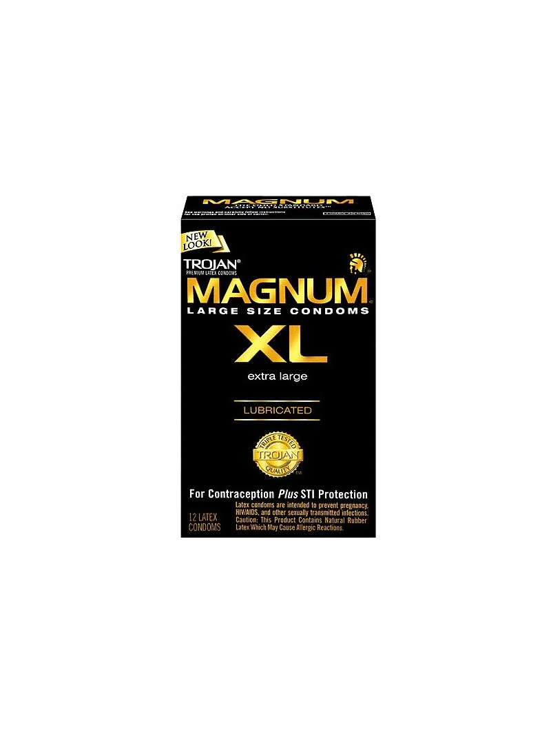Trojan Magnum XL x 12 Condoms