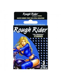 Rough Rider Studded 3 Pack Condoms