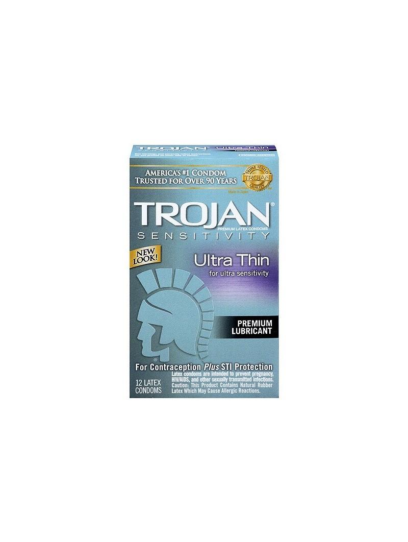 Trojan Ultra Thin x 12 Condoms