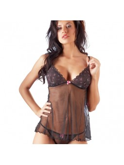 Black Babydoll And String