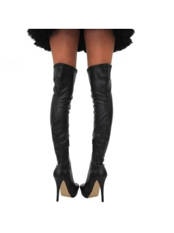 Sexy Thigh High Over The Knee Synthetic Leather