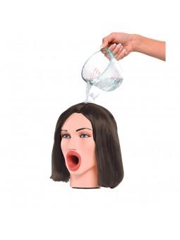 Brunette Hot Water Face Fucker